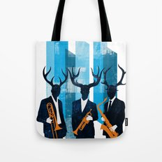 Horn Section Tote Bag