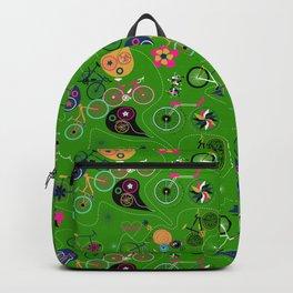 Cycledelic Green Backpack
