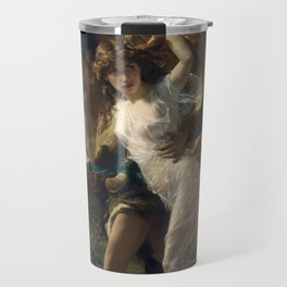 The Storm (1880) -Pierre Auguste Cot Travel Mug
