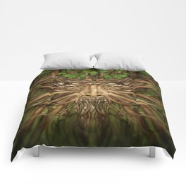 The Green Man - Spring Comforters