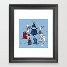 A Charlie Who Christmas Framed Art Print