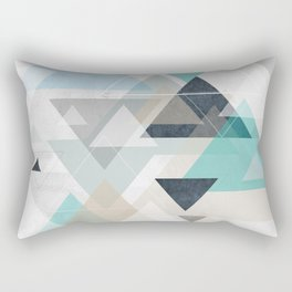 Up and down - triangles Rectangular Pillow