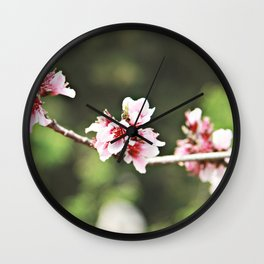 Whisp of Spring Wall Clock