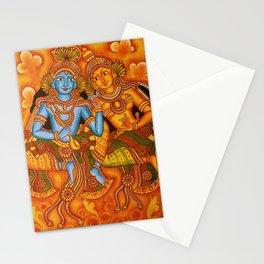 shiva with parvati Stationery Cards