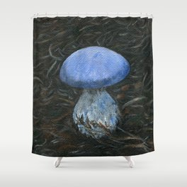 Moody Blues by Teresa Thompson Shower Curtain