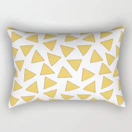 NACHOS NACHO CHIPS FAST FOOD PATTERN Rectangular Pillow