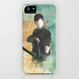 Alec Lightwood Print iPhone Case