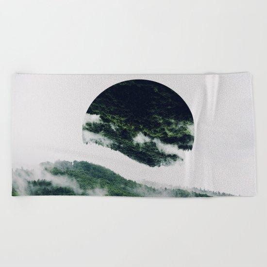 The Upsidedown Beach Towel