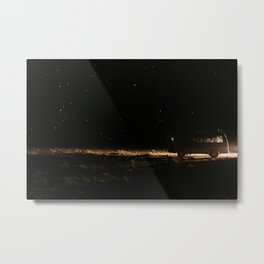 WE WENT TO THE SPACE Metal Print