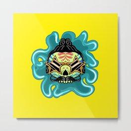 Cute Skull Elvis Metal Print