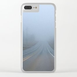 Fogged Morn Clear iPhone Case