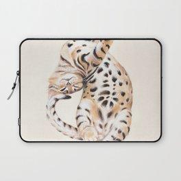 Cute Stretching Bengal Kitten Laptop Sleeve