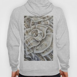 music rose with classical gas notes Hoody