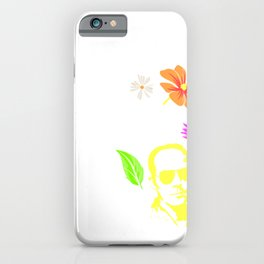 Freedom Dies Unless It's Used | Hunter S. Thompson iPhone Case