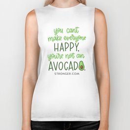 Happy Avocado Biker Tank