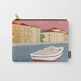 Lefkada, Western Waterfront Carry-All Pouch