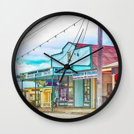 Welcoming village shop Wall Clock