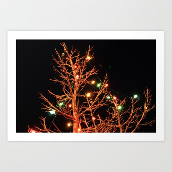 Holiday Lights Art Print