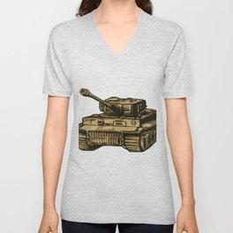 Panzer Unisex V-Neck