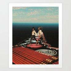 'Altered Perceptions 1970' Art Print
