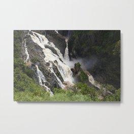 Flooding River Metal Print