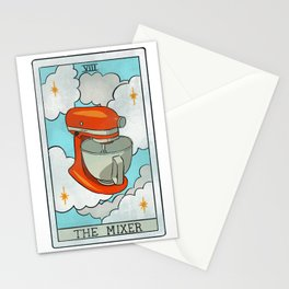 The Mixer | Baker's Tarot Stationery Cards