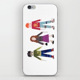 Harry, Hermione, and Ron iPhone Skin