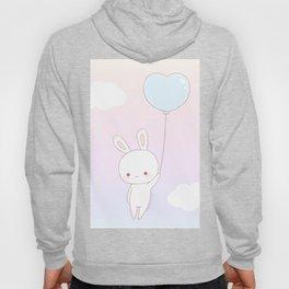 Flying bunny Hoody