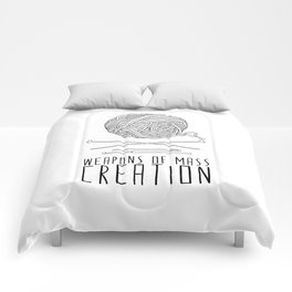 Weapons Of Mass Creation - Knitting Comforters