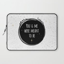 LOVE - You & me were meant to be by Lo Lah Studio Laptop Sleeve