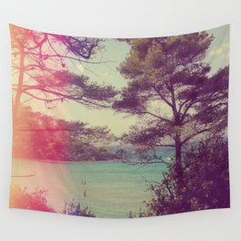 French Beach Wall Tapestry