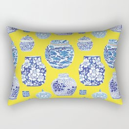 Chinoiserie Ginger Jar Collection No.2 Rectangular Pillow