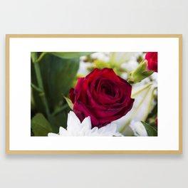 Love So Pure Framed Art Print