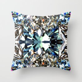 JCrafthouse Crystal Dynamic - Natural Throw Pillow