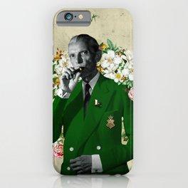The wise & daper altruist, Muhammad Jinnah iPhone Case