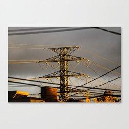 Power Tower Canvas Print