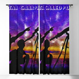 The Star Called Polaris Blackout Curtain