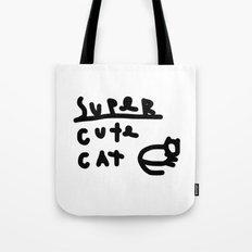 super cute cat Tote Bag