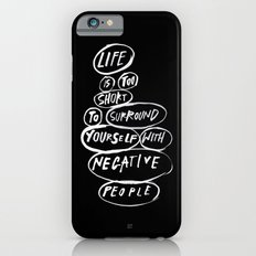 POSITIVE PEOPLE SURROUND SYSTEM Slim Case iPhone 6s