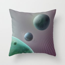Celestial triptych 3  Throw Pillow