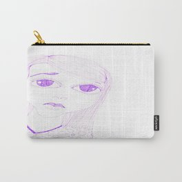 purple sadness1 Carry-All Pouch
