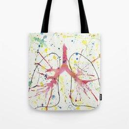 Splash Lung Tote Bag