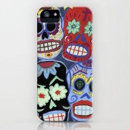 Sugar Skulls iPhone Case