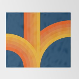 Bounce - Sunset Throw Blanket