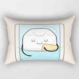 sweet dreams, sleepy tea bag Rectangular Pillow