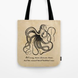 Jules Verne - 20000 Leagues Under the Sea Tote Bag