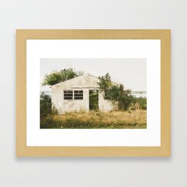My Dream Home. Framed Art Print