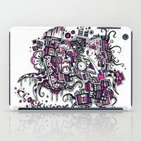 clockwork iPad Cases featuring Clockwork by Voodoodle