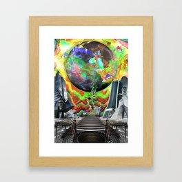 「Off The Moon」 Framed Art Print