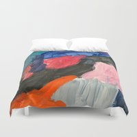 sound Duvet Covers featuring Sound by Lauren Packard